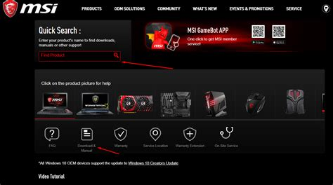 how to update msi motherboard drivers on windows 10 the windows plus