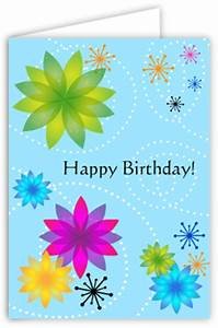 7 Best Images of Printable Fold Birthday Card To Color ...