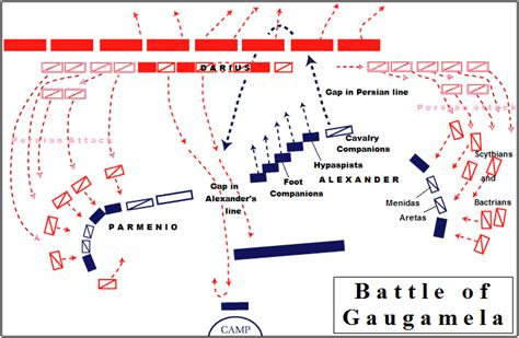gaugamela battle alexander bataille darius map macedonian won tyre phalanx siege arrian alexandre