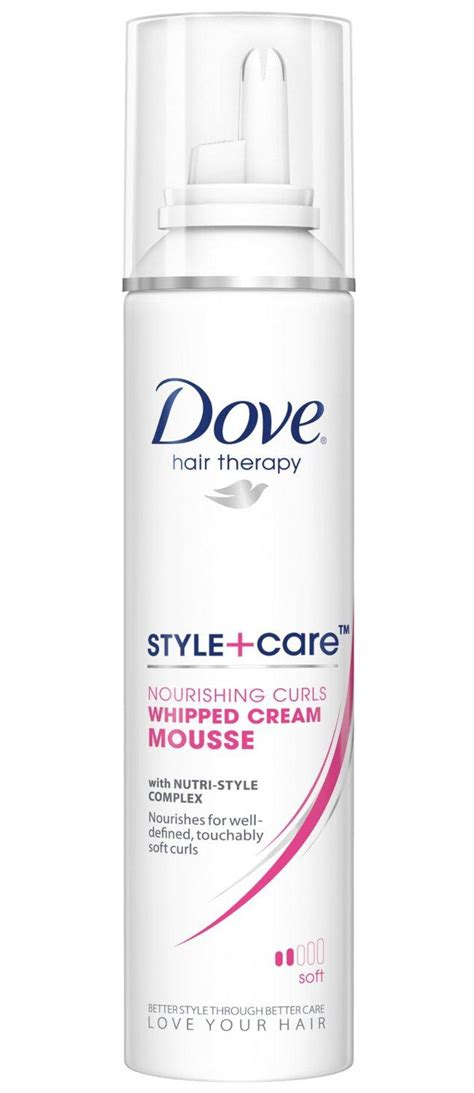 Amazon.com : Dove STYLE+care Curls Defining Mousse, Soft