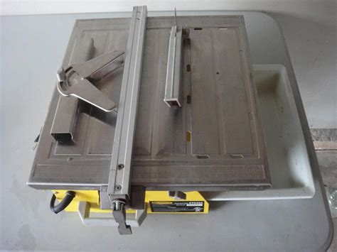 7 quot work workforce tile saw ctc550 excellent ebay