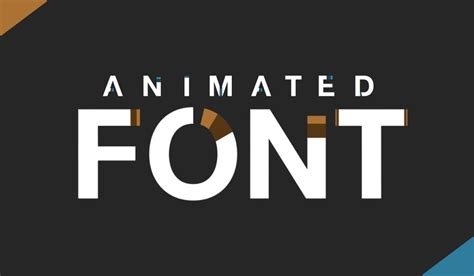 helvetica neue  ae template animated fonts