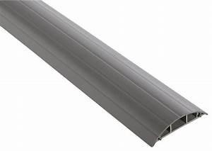 Passage De Cable Au Sol : passage de plancher gris h 18 mm l 75 mm l 2 m brico ~ Dailycaller-alerts.com Idées de Décoration