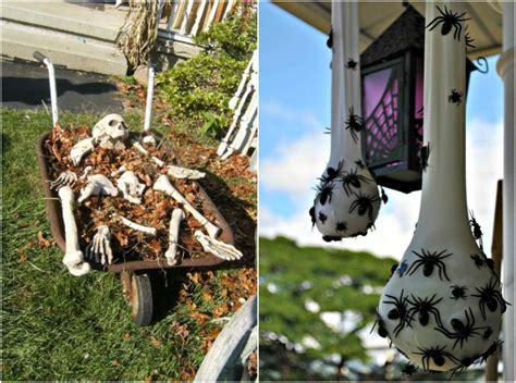 idee deco halloween pour exterieur  interieur chic