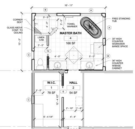 99+ Master Bath Floor Plans Dimensions  Free Master Bath