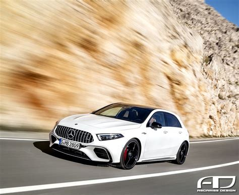 2019 Mercedesamg A45 Comes With Renderings From P Lis