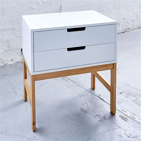 bailey side table two drawer target australia