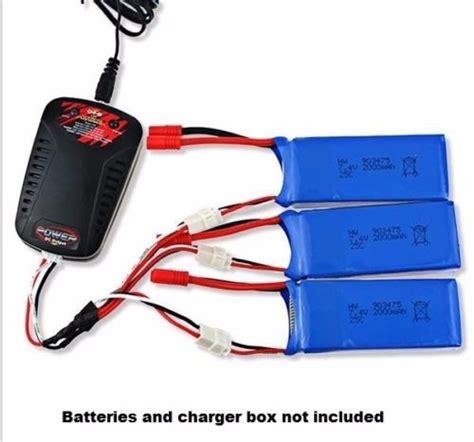 kit  baterias cabo  drone syma xw xg  mah   em mercado livre