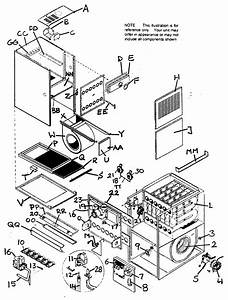 York Gas Furnace Parts Diagram