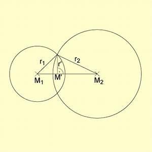 Schnittpunkt Zweier Geraden Berechnen Vektoren : lagebeziehungen zweier kugeln in mathematik ~ Themetempest.com Abrechnung