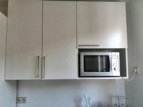 Küche Ikea Faktum/applåd Weiß Mit Elektrogeräten In