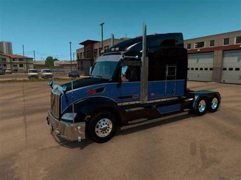 peterbilt 579 enhanced updated 1 30 x truck mod truck simulator 2 mods