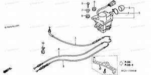 Honda Motorcycle 2002 Oem Parts Diagram For Servo Motor