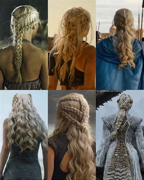 daenerys hair evolution   conquests game