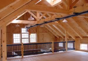 Timber Frame Barn House