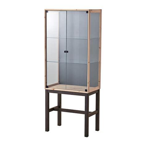 ikea kitchen cabinet doors glass norn 196 s glass door cabinet with 2 doors ikea