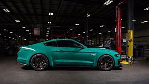 VWVortex.com - 2018 Ford Mustang facelift officially unveiled - Loses the V6, gains a 10-speed ...