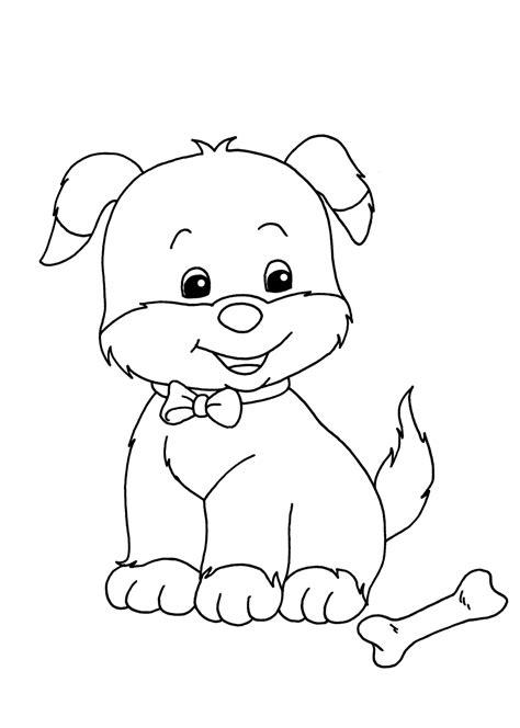 Kleurplaat Printen Puppie by Kleurplaat Hond 64 Gratis Allerleukste Honden Kleurplaten