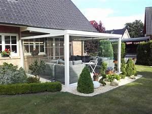 Terrasse Mit Kies : winterverglasung terrasse die terrasse auch im winter nutzen ~ Markanthonyermac.com Haus und Dekorationen
