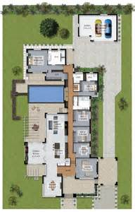 Luxury Home Plans With Pools by Floor Plan Friday Luxury 4 Bedroom Family Home With Pool