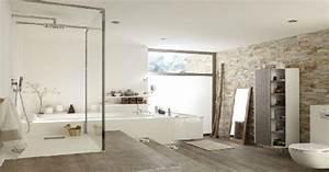 une salle de bain deco lumineuse design leroy merlin With salle de bain design avec branche décorative lumineuse