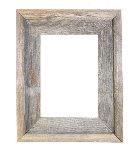 barn wood frames 8x10 2 quot wide barnwood reclaimed wood open frame no glass