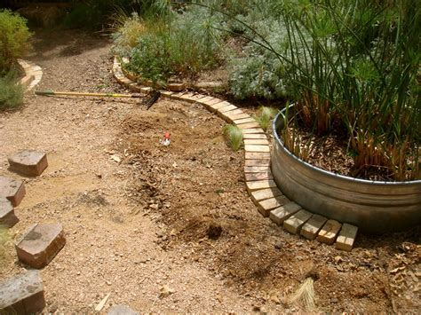 brick landscape edging ideas garden bricks border arafen