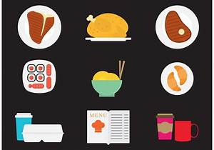Dinner Vector Icons - Download Free Vector Art, Stock ...