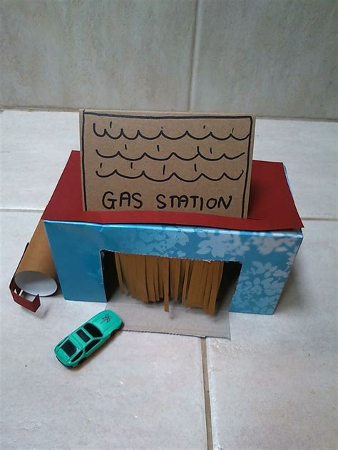 tissue box craft making  carwash gas station young