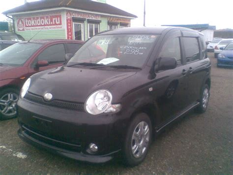 Toyota Sienta Picture by 2004 Toyota Sienta Pictures 1500cc Gasoline Ff