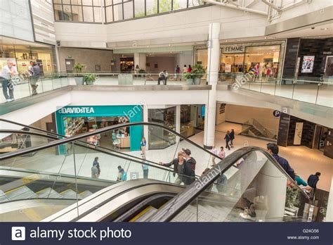 inside cf rideau centre shopping mall in ottawa ontario canada stock photo royalty free image