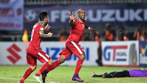 indonesia shock favourites thailand  suzuki cup final
