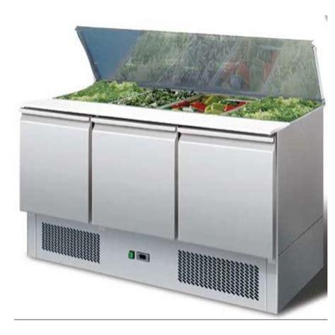 meuble frigorifique saladette professionnelle avec trois