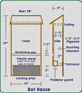 Bat houses for Diy bat house plans pdf