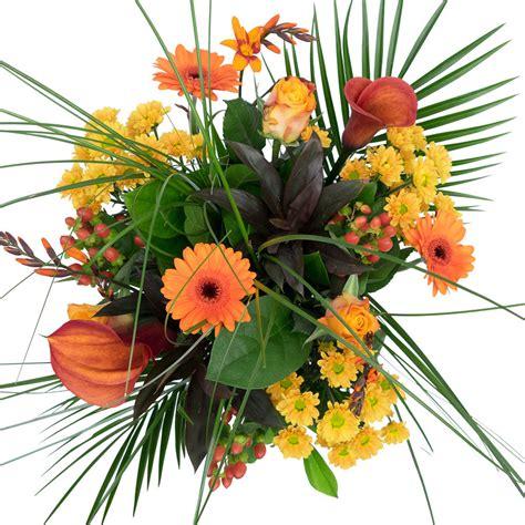 afbeeldingen verjaardag bos bloemen boeket met oranje bloemen bezorgen met gratis