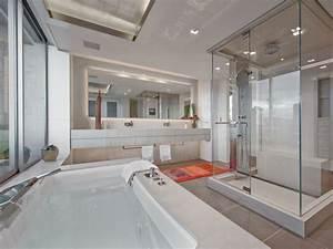 Exemple Salle De Bain : mod le douche l 39 italienne 74 id es pour l 39 am nager ~ Dailycaller-alerts.com Idées de Décoration