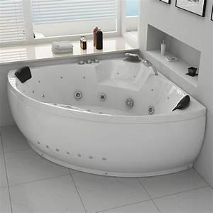 Baignoire Balneo 2 Personnes : baignoire d 39 angle baln o 2 places california 2 baignoire ~ Dailycaller-alerts.com Idées de Décoration
