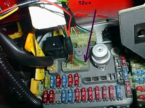 Rover 75 Bonnet Fuse Box by Mgf Kofferraumklappe Ueberwachung Boot Lid Closed Check