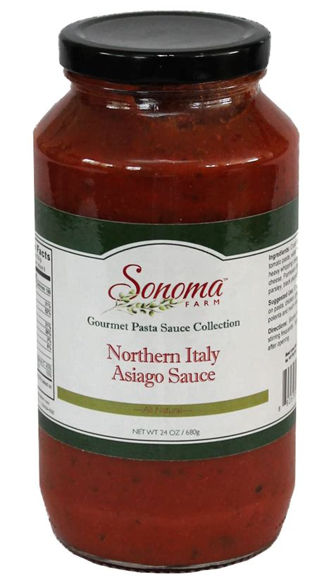northern italy asiago spaghetti sauce  oz