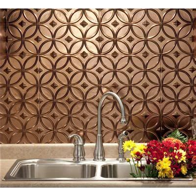 thermoplastic panels kitchen backsplash this faux tin ceiling tile as a backsplash it s available through home depot home