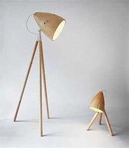 Designer Stehlampen Holz : designer stehleuchten zum bewundern 10 originelle kreationen ~ Indierocktalk.com Haus und Dekorationen