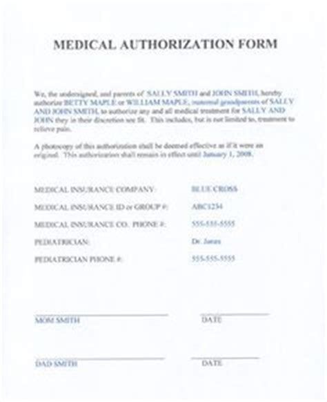 notarized medical release form notarized medical consent form for minor bagnas