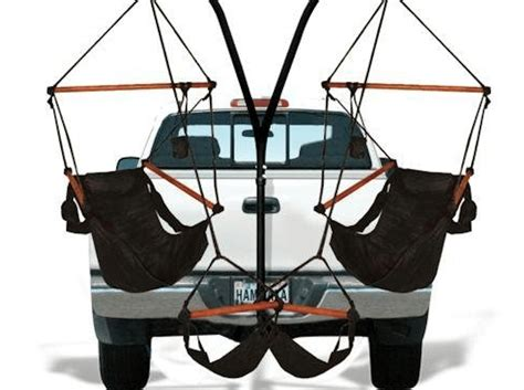 truck hitch hammock trailer hitch allows you to attach hammocks to truck simplemost