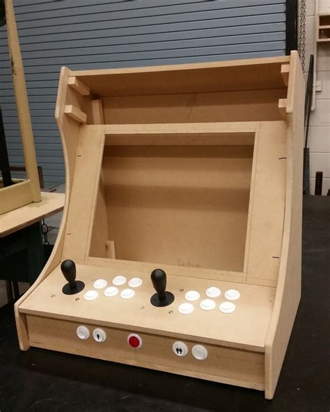 Diy Arcade Cabinet Raspberry Pi by Plans For Building A Bartop Arcade System Using A