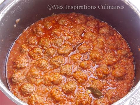 boulettes de viande sauce tomate cuisine italienne spaghetti aux boulettes de viande a l 39 italienne le