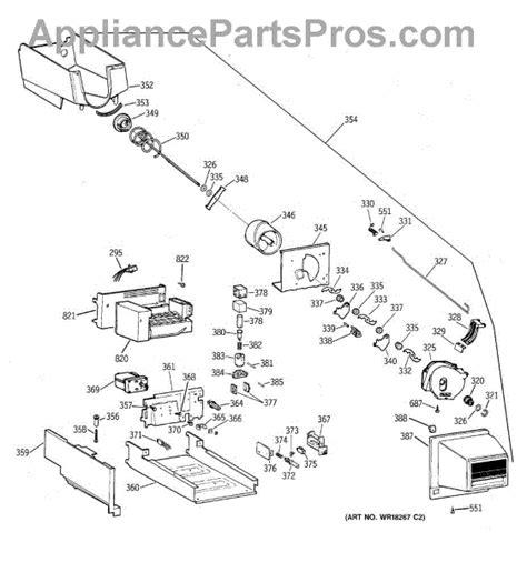 parts  ge tbxprbslww ice bucket parts appliancepartsproscom