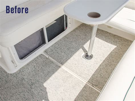 Boat Vinyl Flooring Material by How To Replace Boat Carpet With Woven Flooring