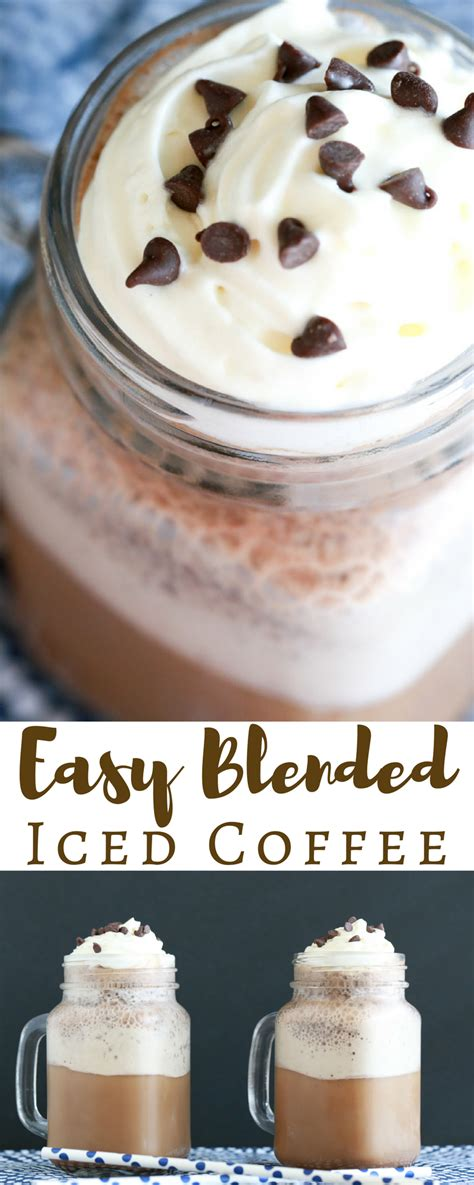 Thai iced coffee is strong, creamy, and sweet. Easy Blended Iced Coffee | Cold Coffee Recipes | Simply Being Mommy