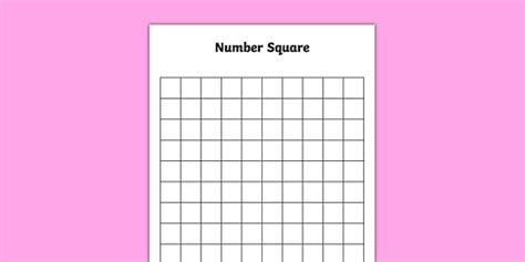 blank    number square blank    number square