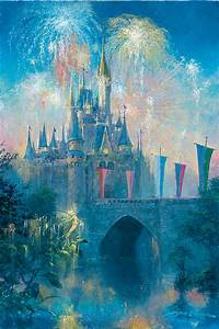 Walt Disney World Castle - Art and Paintings by Artists ...